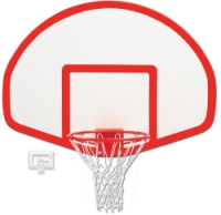 39in x 54in Fiberglass Fan-Shape Backboard