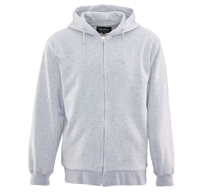 Thermal Gray Hooded Sweatshirt