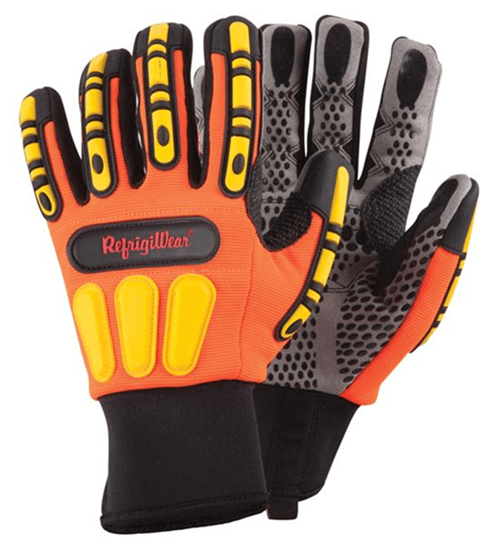 HiVis Impact Protection Non-Insulated Glove