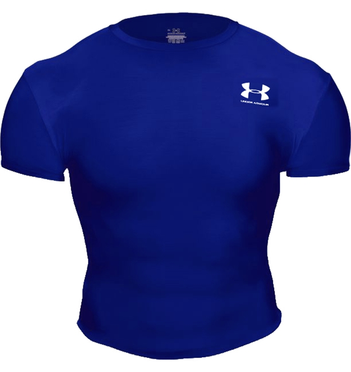 UA HeatGear® Royal Full T
