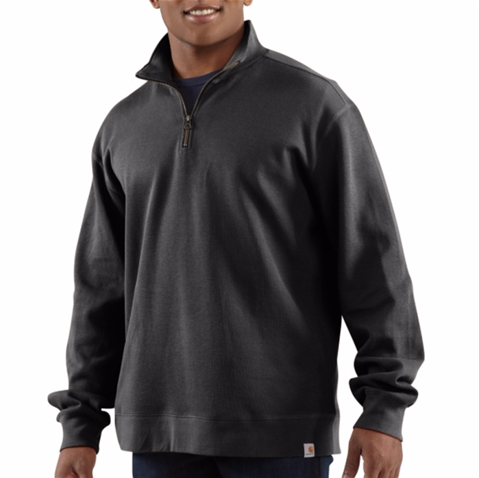 Sweater Knit Quarter Zip