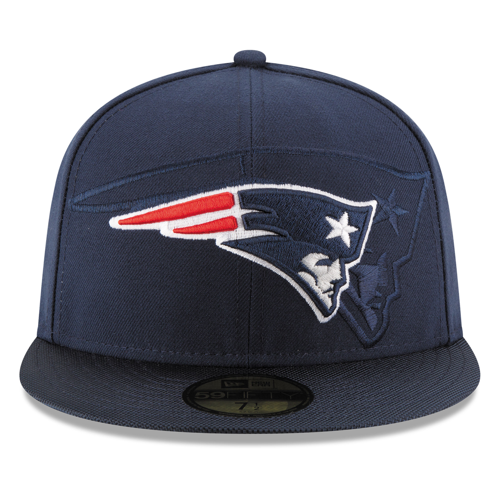 521b0045c New Era New England Patriots Navy 2016 Sideline Official 59FIFTY Fitted Hat