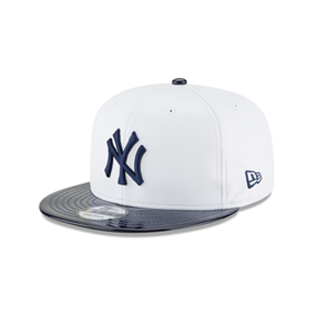 New Era 9FIFTY New York Yankees Retro Hook White Synthetic Leather Hat