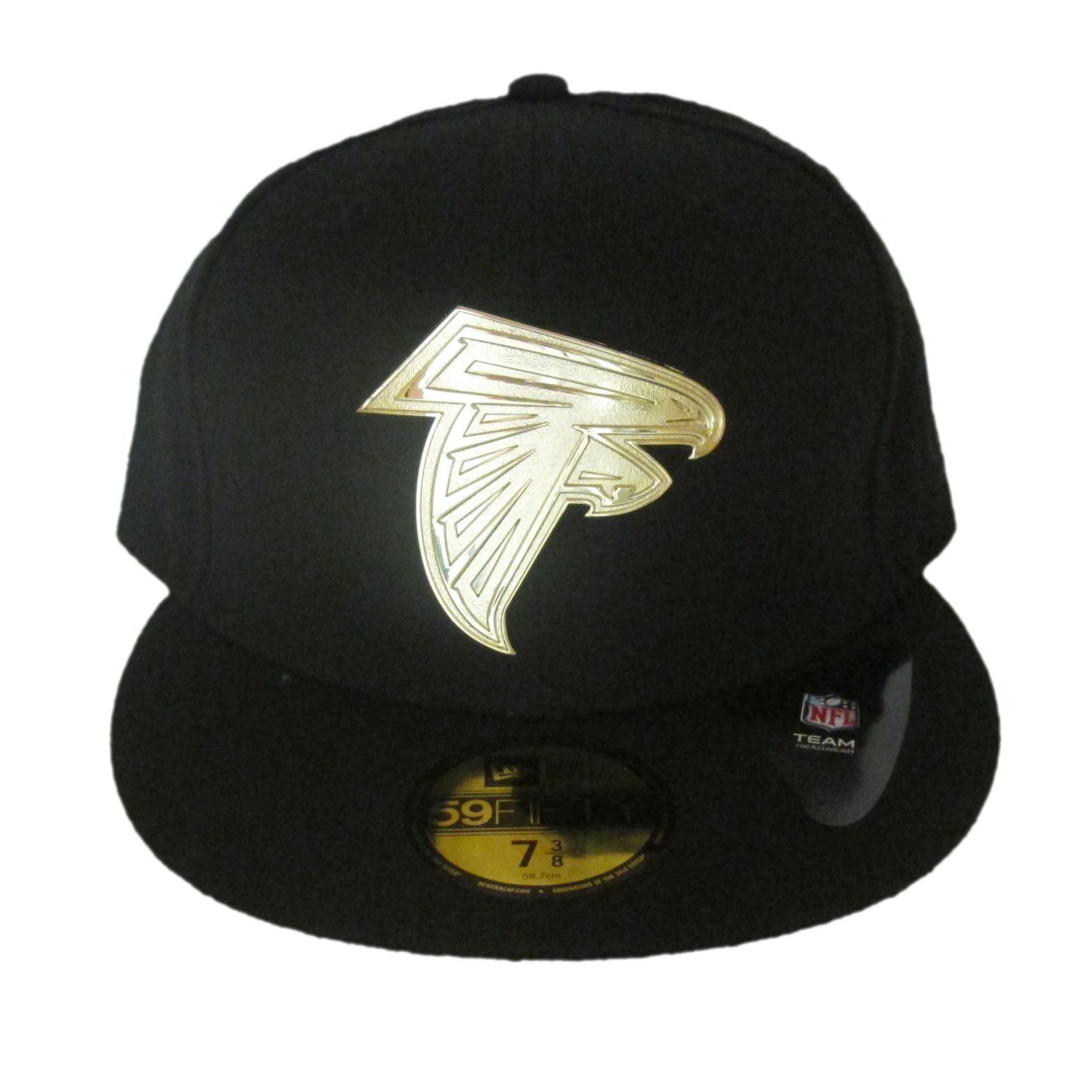 New Era Atlanta Falcons Golden Finish 59FIFTY Fitted Cap 51246dddb