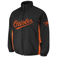 Baltimore Orioles Authentic Double Climate On-Field Jacket by Majestic Athletic