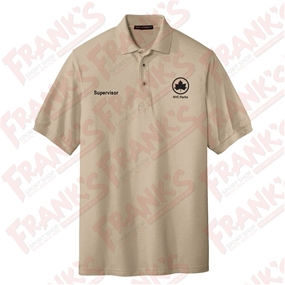NYC Parks and Recreation Supervisor Short Sleeve Polo