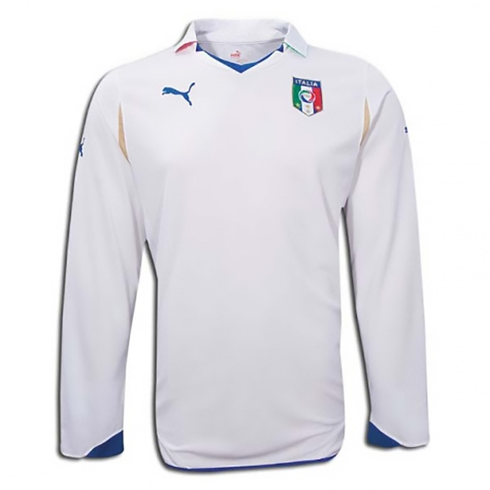 2010-11 ITALY LONG SLEEVE WORLD CUP AWAY SHIRT