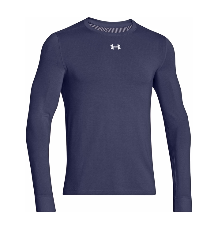 UA ColdGear® Infrared Crew Navy Shirt