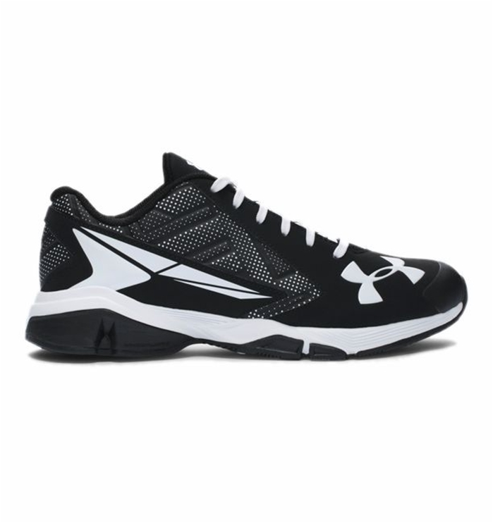 UA Yard Low Black Baseball Trainer