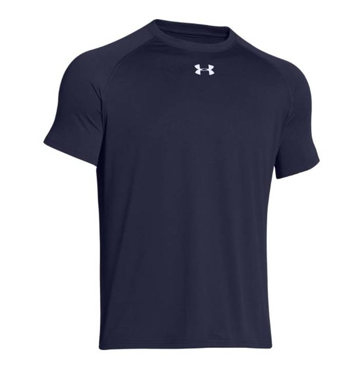 UA Tech™ Locker T Short Sleeve Navy Shirt