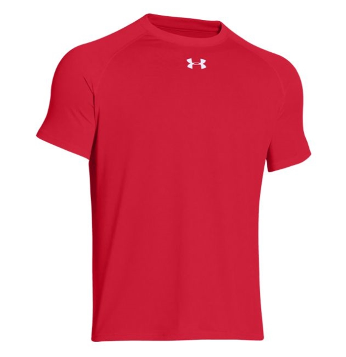 UA Tech™ Locker T Short Sleeve Red Shirt