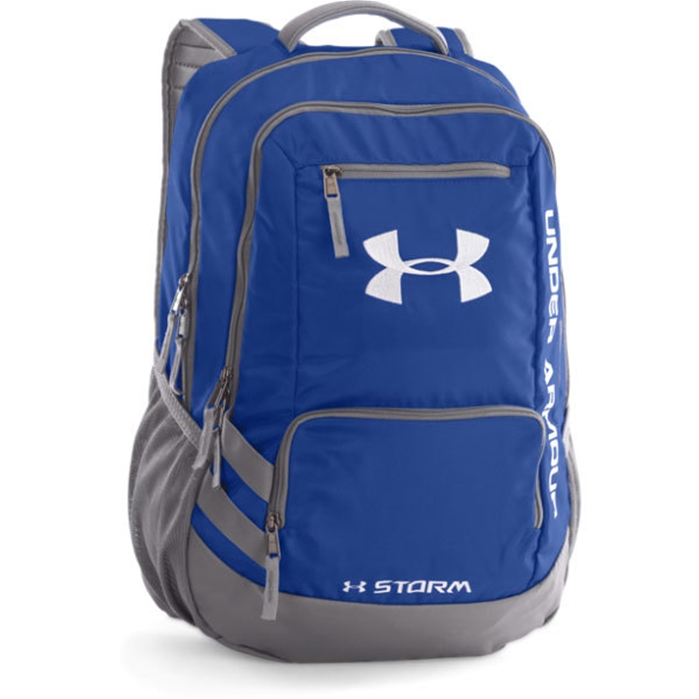 UA Team Hustle Royal Backpack