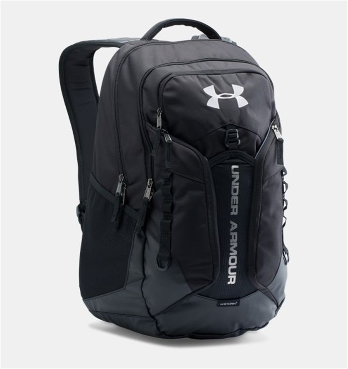 UA Storm Contender Black Backpack