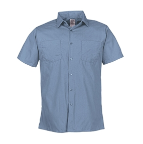 4.5 oz poplin short sleeve shirt