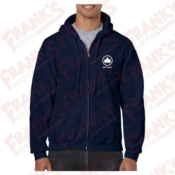 NYC Parks Full Zip Hood Sweatshirt