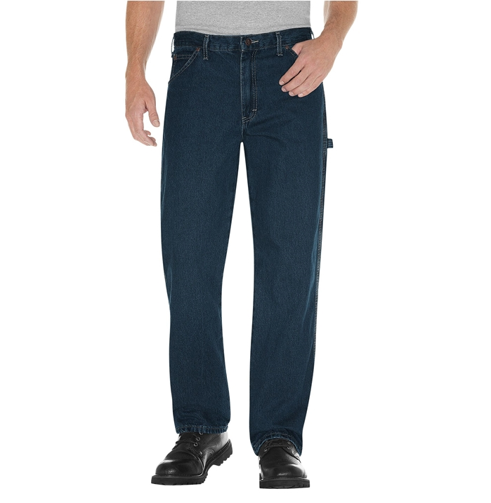 Dickies Relaxed Fit Stonewashed Carpenter Denim Jean