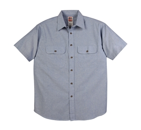 4.5 OZ CHAMBRAY Short Sleeve Shirt