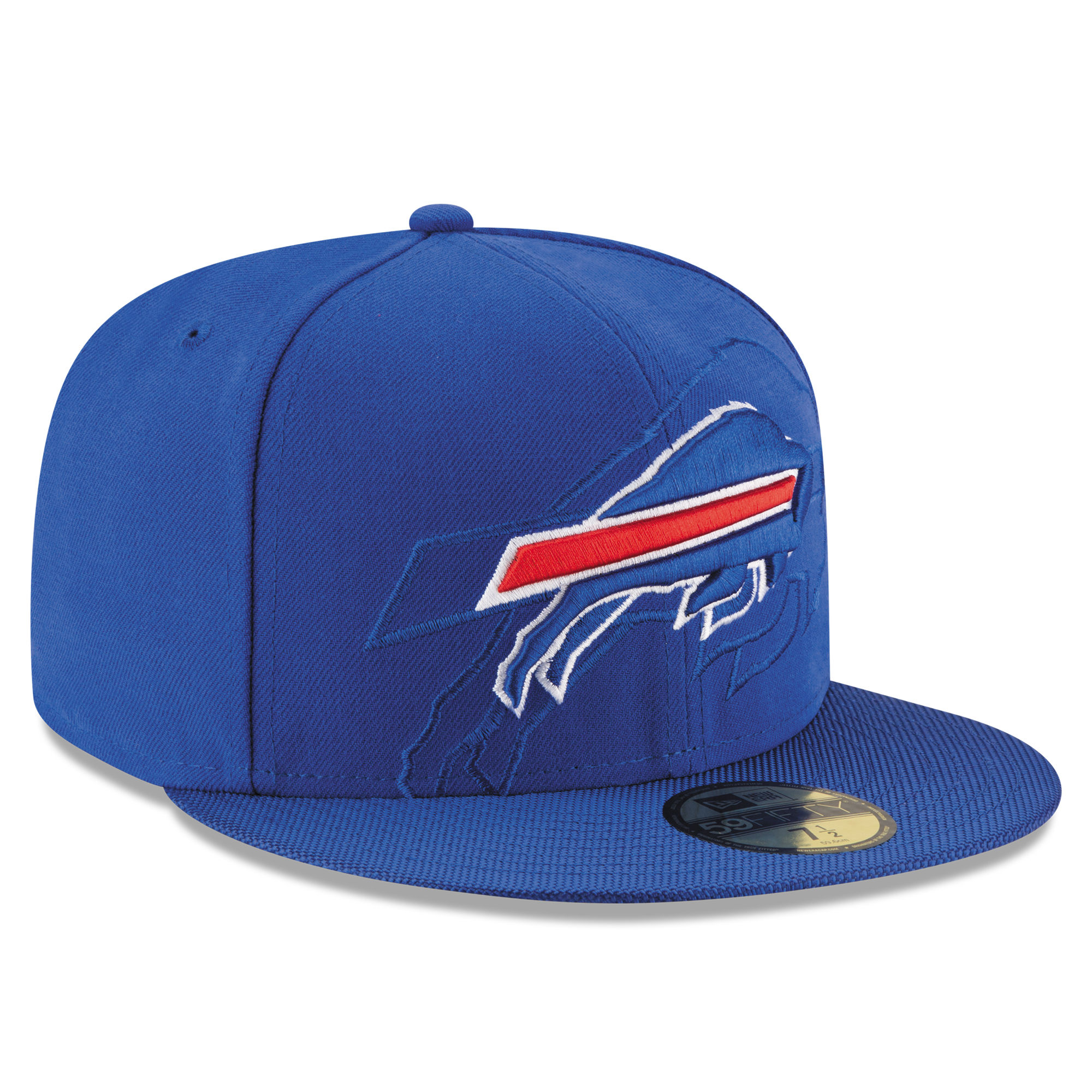 New Era Buffalo Bills Royal 2016 Sideline Official 59FIFTY Fitted Hat f6ed615af