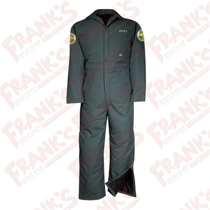 DSNY Sanitation Midweight Insulated Twill Industrial Coverall