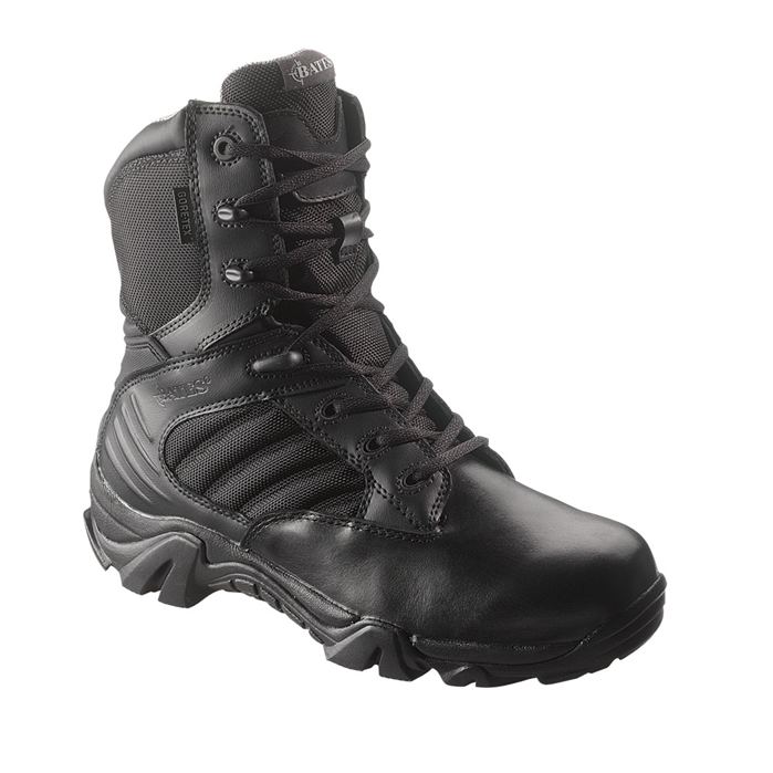 Bates GX-8 Gore-Tex Side Zip Boot Black