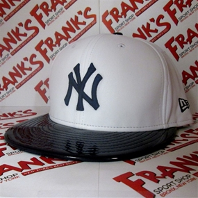 New Era New York Yankees Retro Hook White Synthetic Leather Hat