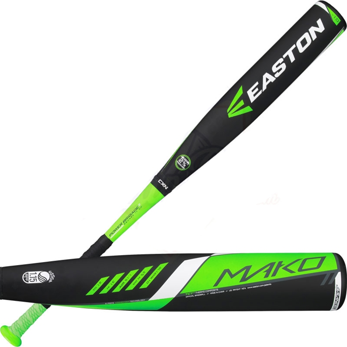 2016 Easton Mako Youth Big Barrel Baseball Bat -10OZ SL16MK10