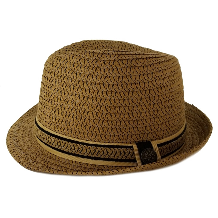 Scala Classico Ribbon Braid Fedora Hat