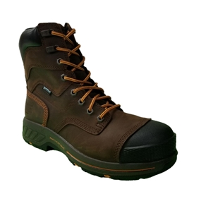 Timberland 8 In Helix HD Waterproof Brown work Boots