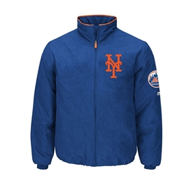 Majestic Authentic New York Mets On-Field Premier Jacket