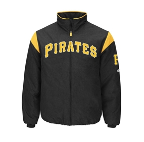 Majestic Authentic Pittsburgh Pirates On-Field Premier Jacket