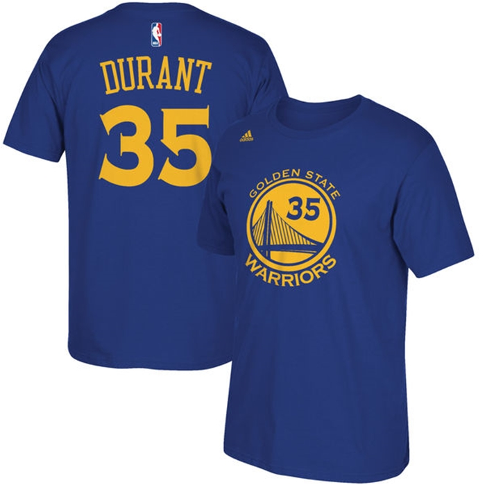 Adidas Golden State Warriors Kevin Durant T-Shirt
