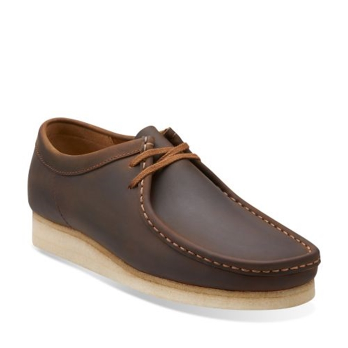 Clarks Beeswax Leather Wallabee Shoe