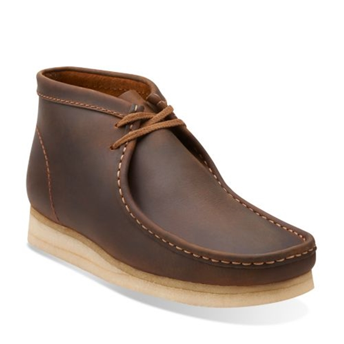 Clarks Original Beeswax Leather Wallabee Boot