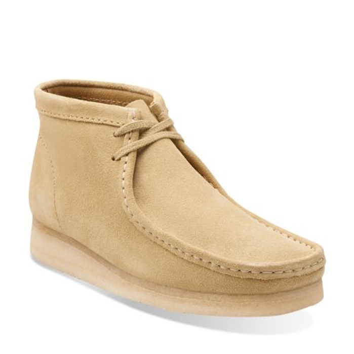 Clarks Original Maple Suede Wallabee Boot