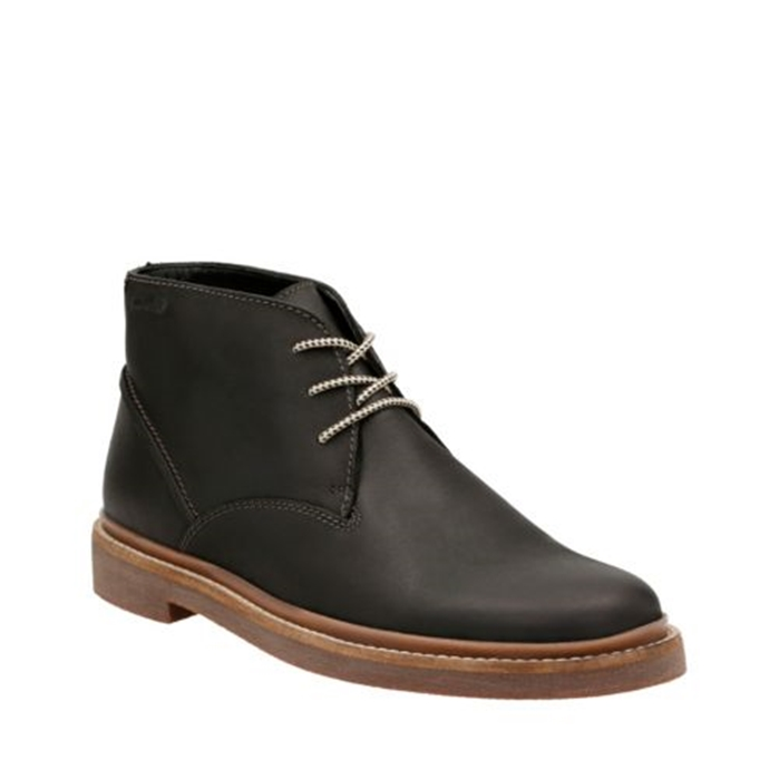 Clarks Bushacre Ridge Black Nubuck Shoes