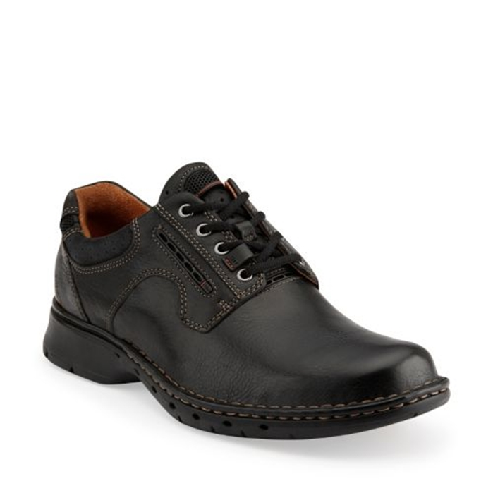 Clarks Un.Ravel Unstructured Leather Shoes