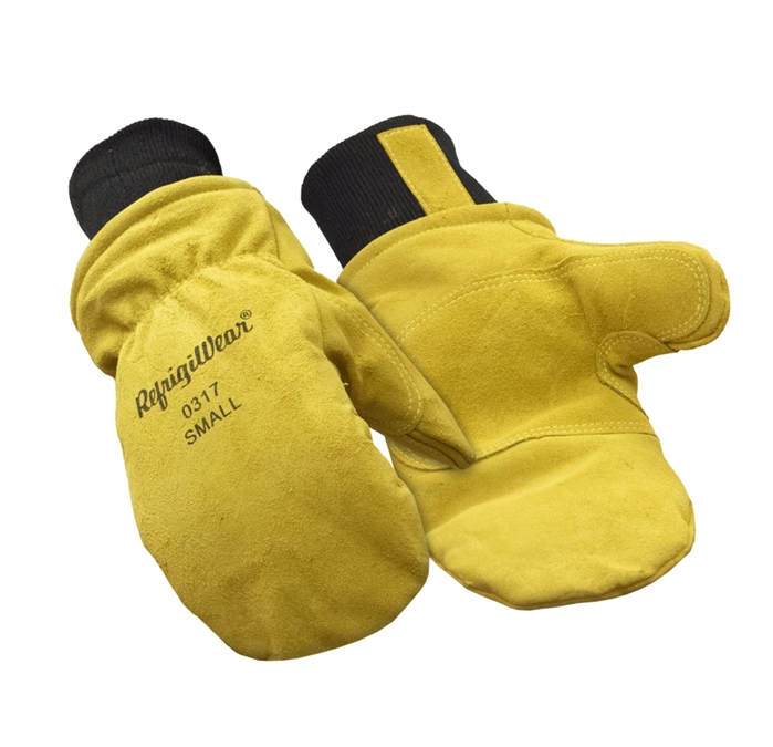 Insulated Leather Mitts