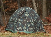 """Camouflage 3-Man Hexagon Dome Tent - 84"""" X 78"""" X 48"""""""