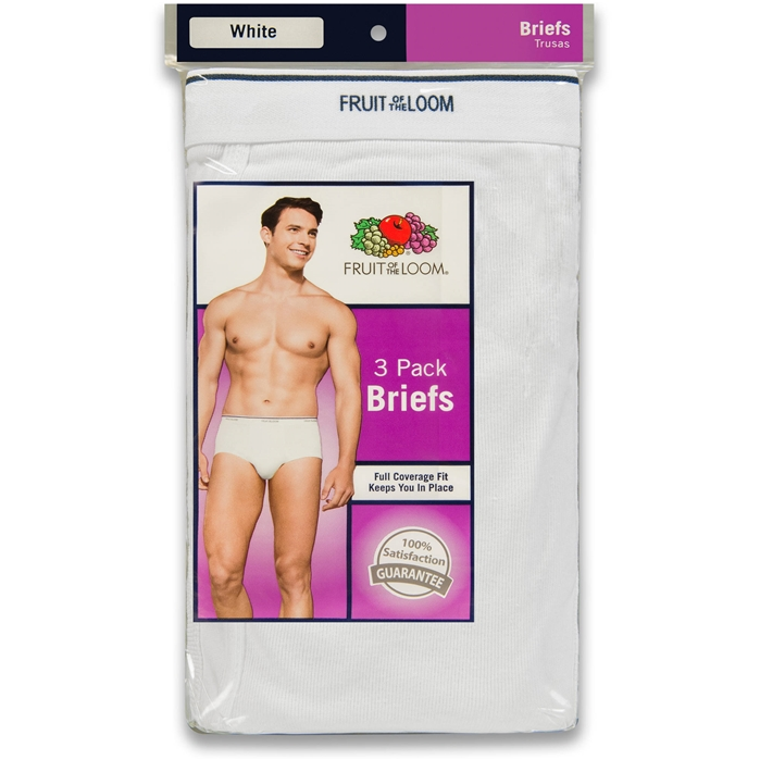 3-Pack White Briefs