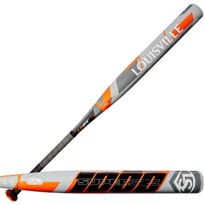 Louisville Slugger super z-1000 endloaded slowpitch softball bat