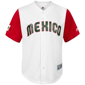 Majestic 2017 WBC Mexico Replica Team Jersey