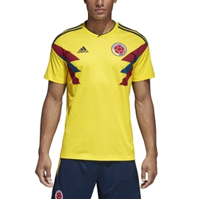 Adidas Colombia Home Replica Soccer Jersey