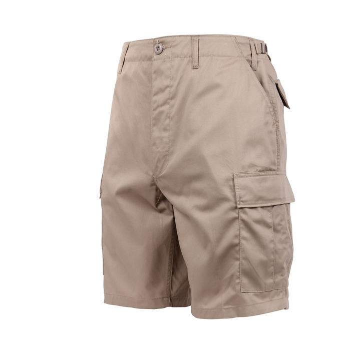 6 Pockets Khaki BDU Shorts