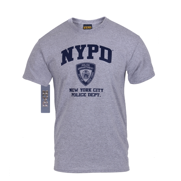Rothco Officially Licensed NYPD Physical Training T-Shirt