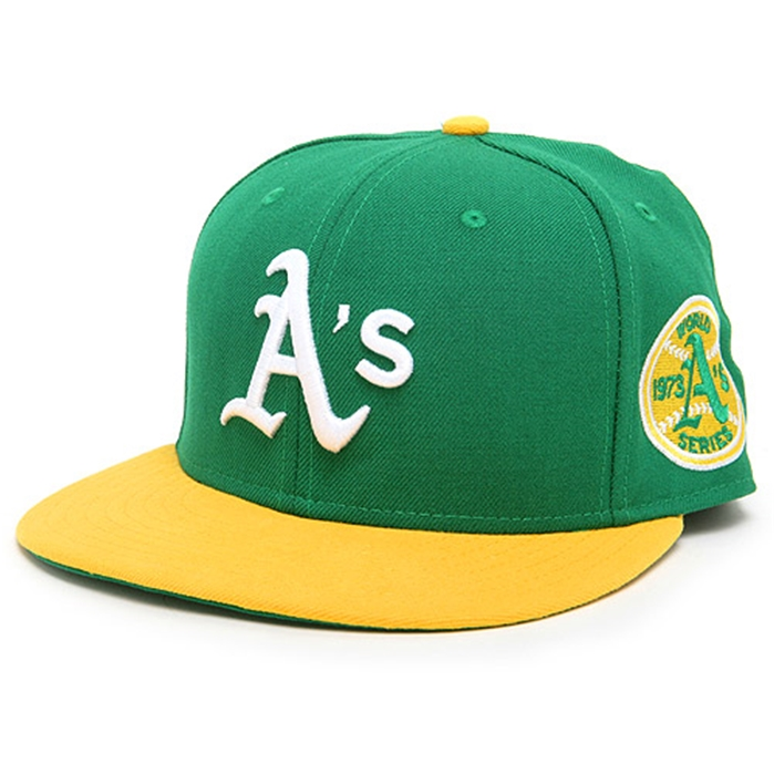 Oakland Athletics Authentic 1973 World Series Cap