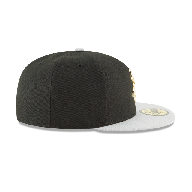 74549764ebb20 New Era 59FIFTY Chicago White Sox Golden Finish Cap. click on thumbnail to  zoom