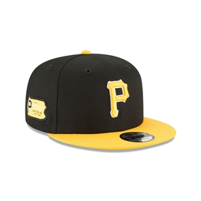 New Era 9Fifty Pittsburgh Pirates Side Stated Snapback Cap