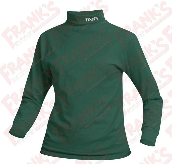 DSNY Jersey Knit Long Sleeve Turtleneck
