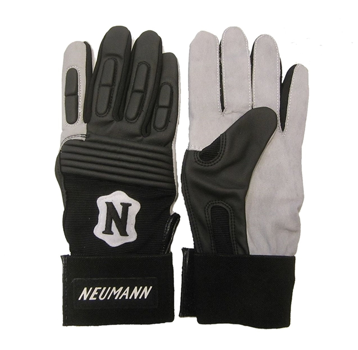 Adams Neumann Padded Football Receivers Linemen Gloves