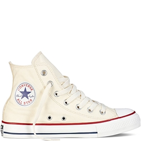 Converse All Star Hi Top Chuck Taylor Unbleached White Shoes
